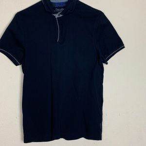 Ted Baker- Navy Blue Polo Shirt size 3